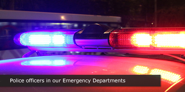 Police Officers in our Emergency Departments   Beyond the