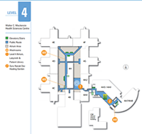 Stollery 4th Floor Map