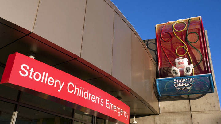 Stollery Emergency Entrance