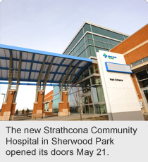 The new Strathcona Community Hospital in Sherwood Park opened its doors May 21.