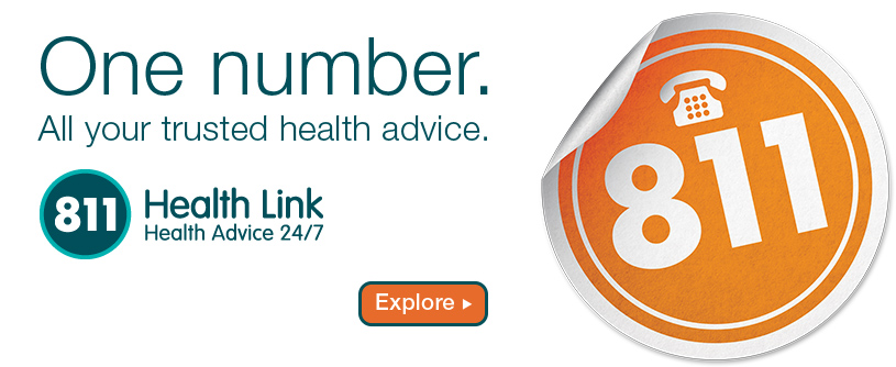 New number. 811 Health Link.