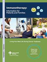 Immunotherapy - Information and Resources for Patients and Families
