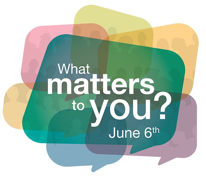 What Matters to You? June 6