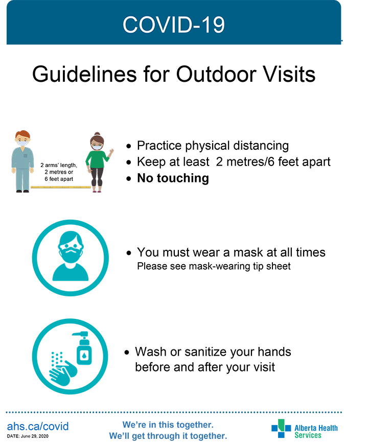 Visiting Restrictions - Outdoor Visits