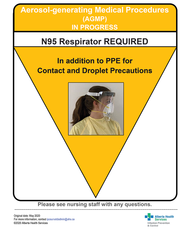 Poster: OR - PPE Donning