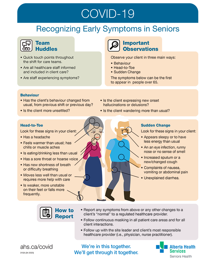 Recognizing Early Symptoms in Seniors