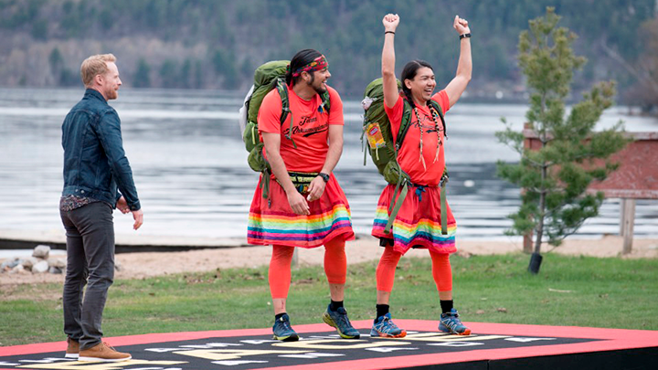 Alberta doctor and partner win Amazing Race Canada