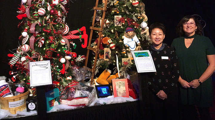 Dr. Yiu kicks off festive season in Fort McMurray
