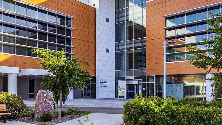The new Grande Prairie Regional Hospital will open on Dec. 4.