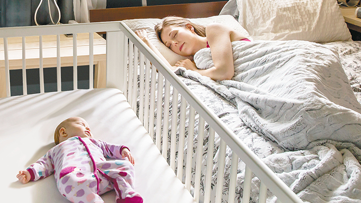Creating a safe sleep environment reduces babies' risk of SIDS and other sleep-related injuries.