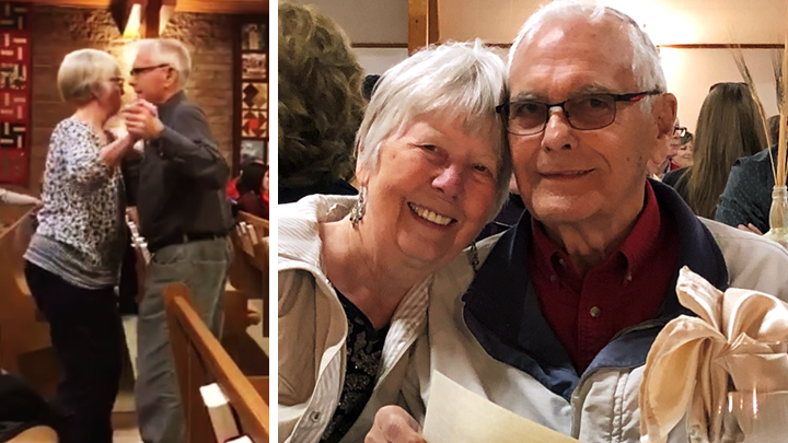 Ernest and Nyna Marr have danced and dined together for all of their 58 years of marriage. With the help of community partners and Zoom, COVID-19 hasn't gotten in the way of their social and quality time.