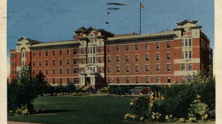 Vintage blueprints stir fond memories | Alberta Health Services