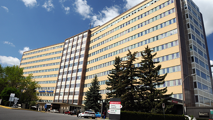 Foothills Medical Centre, also in Calgary, is No. 8. on the short list of best Canadian hospitals.