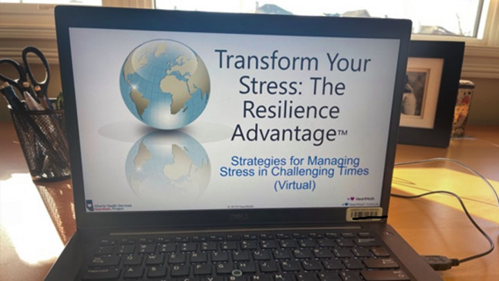 Transform Your Stress workshops are now being offered virtually by Alberta Health Services.